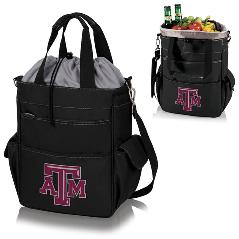 Texas A&M Aggies Activo Cooler Tote in Black