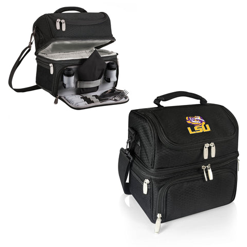LSU Tigers Pranzo Lunch Tote in Black