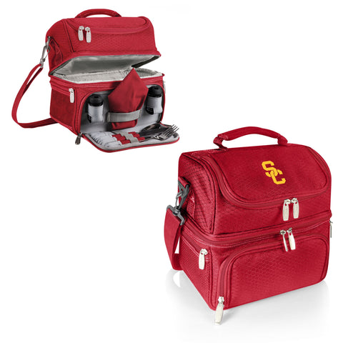 USC Trojans Pranzo Lunch Tote in Red