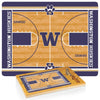 Washington Huskies Icon Cutting Board/Tray and Knife Set in Basketball Design