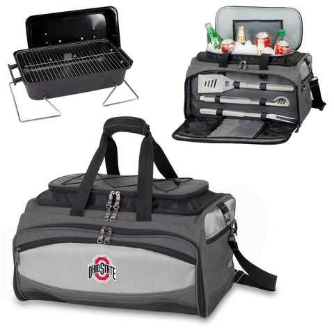 Ohio State Buckeyes Buccaneer Portable BBQ and Cooler Tote