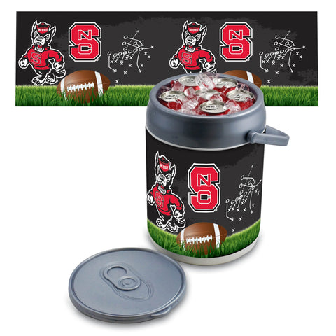 NC State Wolfpack Can Cooler in Football Design