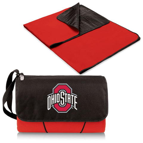 Ohio State Buckeyes Blanket Tote in Red
