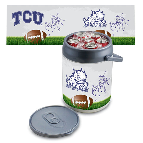 TCU Horned Frogs Can Cooler in Football Design