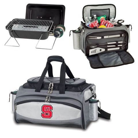 NC State Wolfpack Vulcan Portable BBQ and Cooler Tote