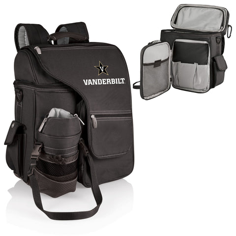 Vanderbilt Commodores Turismo Cooler Backpack in Black