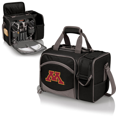 Minnesota Golden Gophers Malibu Picnic Tote in Black