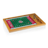 Ohio State Buckeyes Icon Cutting Board/Tray and Knife Set in Football Design