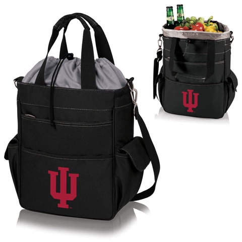 Indiana Hoosiers Activo Cooler Tote in Black