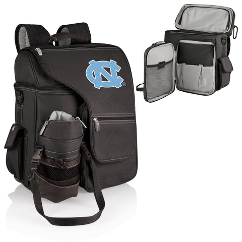 North Carolina Tar Heels Turismo Cooler Backpack in Black