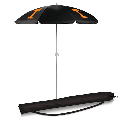 Tennessee Volunteers 5.5' Portable Beach/Picnic Umbrella in Black