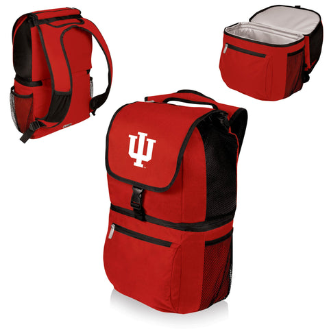 Indiana Hoosiers Zuma Cooler Backpack in Red