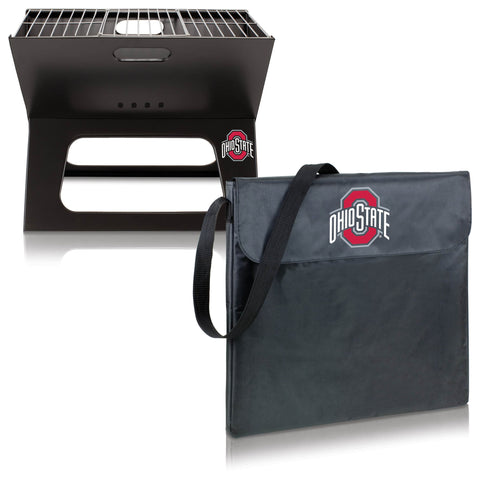 Ohio State Buckeyes X-Grill Portable BBQ