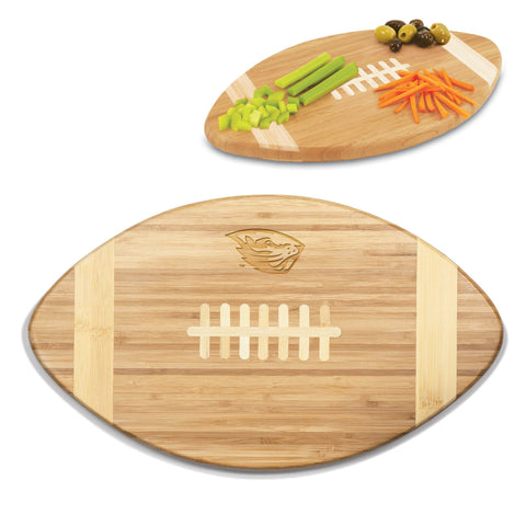 Oregon State Beavers Touchdown! Bamboo Cutting Board