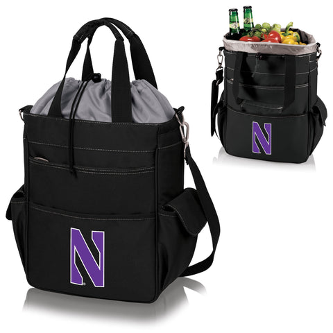 Northwestern Wildcats Activo Cooler Tote in Black
