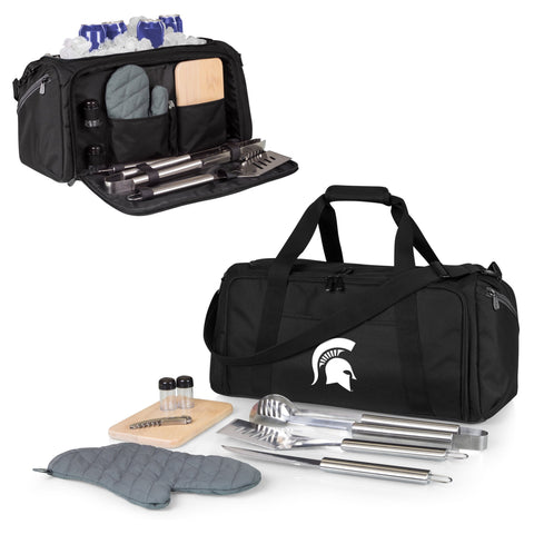 Michigan State Spartans BBQ Kit Cooler