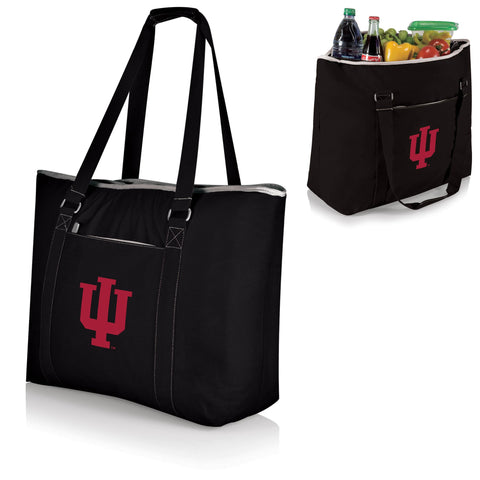 Indiana Hoosiers Tahoe Cooler Tote in Black