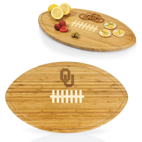 Oklahoma Sooners Kickoff Bamboo Cutting Board/Serving Tray