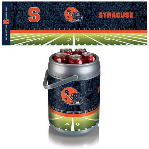 Syracuse Orange Can Cooler in Football Design