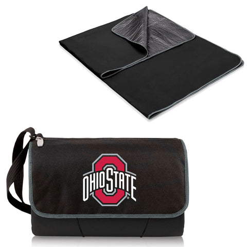 Ohio State Buckeyes Blanket Tote in Black