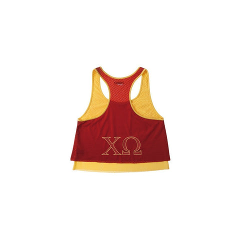 Chi Omega Mesh Double Layer Tank