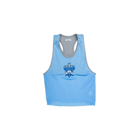 Kappa Kappa Gamma Mesh Tank with Attached Sporty Bralette