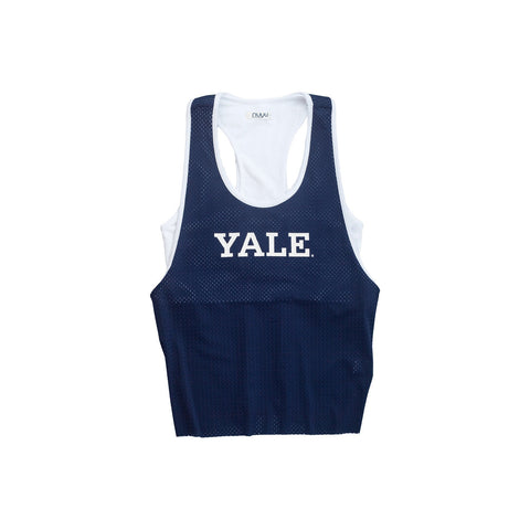 Yale University Mesh Tank with Attached Sporty Bralette