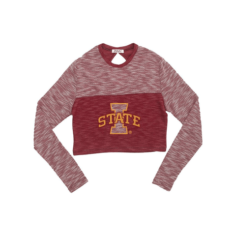 Iowa State University Terry Crop Top