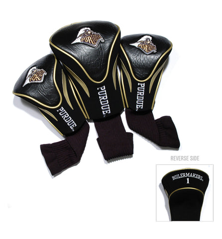 Purdue Boilermakers 3 Pack Contour Head Covers
