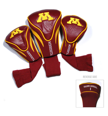 Minnesota Golden Gophers 3 Pack Contour Head Covers
