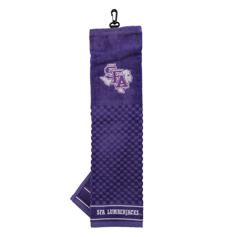 Stephen F Austin Embroidered Golf Towel