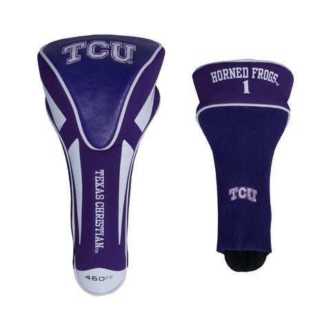 TCU Horned Frogs Single Apex Driver Head Cover