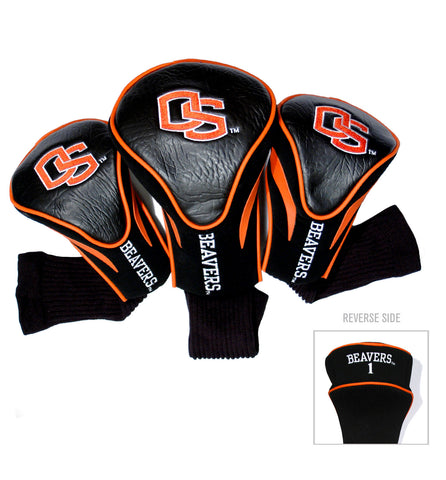 Oregon State Beavers 3 Pack Contour Head Covers