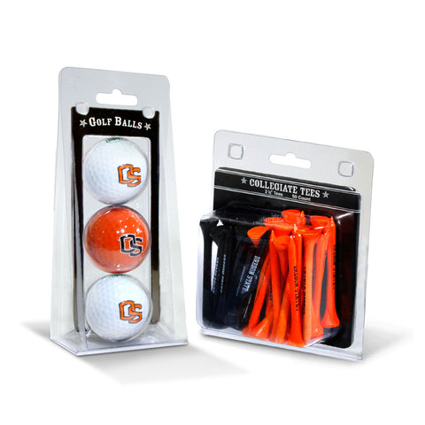 Oregon State Beavers 3 Golf Balls And 50 Golf Tees