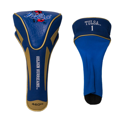 Tulsa Golden Hurricanes Single Apex Driver Head Cover