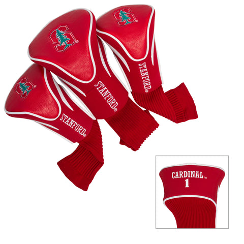 Stanford Cardinal 3 Pack Contour Head Covers