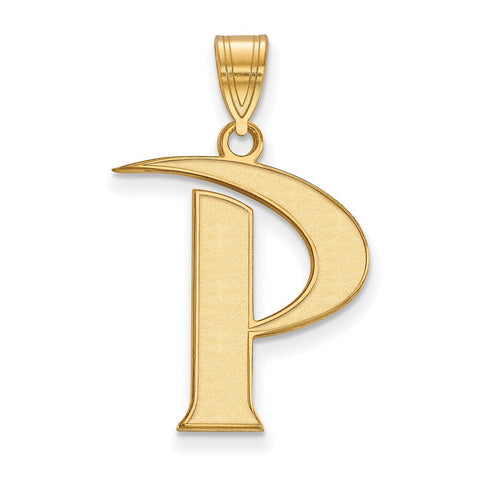 Pepperdine Waves Large Pendant 14k Yellow Gold