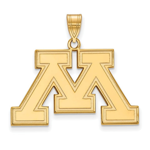 Minnesota Golden Gophers Large Pendant