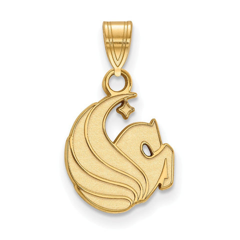 UCF Knights Small Pendant 14k Yellow Gold