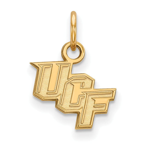 UCF Knights XS Charm 14k Gold Plate