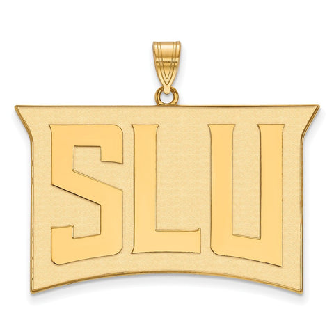 St. Louis Billikens XL Pendant 14k Gold Plate