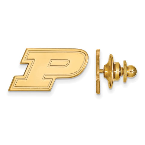 Purdue Boilermakers Lapel Pin 14k Gold Plate