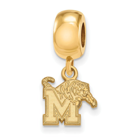 Memphis Tigers Bead Charm XS Dangle