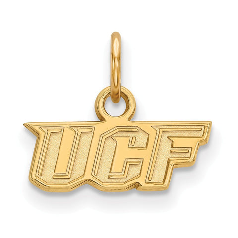 UCF Knights XS Charm 10k Yellow Gold