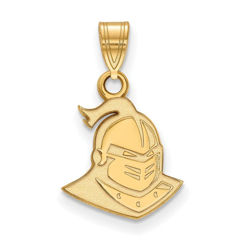 UCF Knights Small Pendant 14k Gold Plate