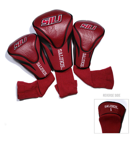 Southern Illinois Salukis 3 Pack Contour Head Covers
