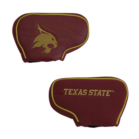 Texas State Bobcats Golf Blade Putter Cover