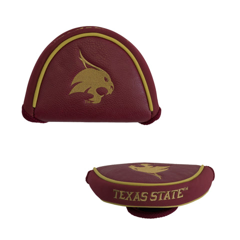 Texas State Bobcats Golf Mallet Putter Cover