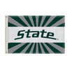 Michigan State Spartans 2' X 3' Flag 002