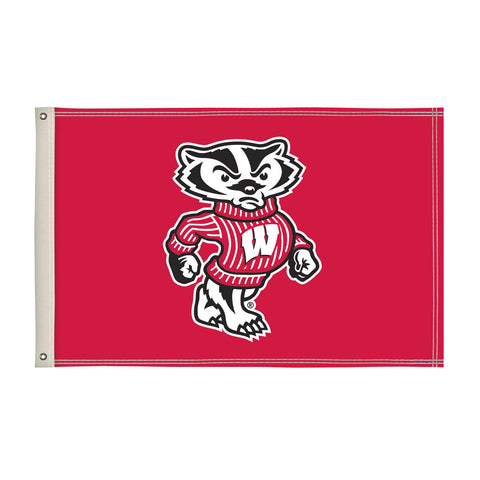 Wisconsin Badgers 2' X 3' Flag 001